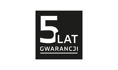 5-letnia gwarancja z assistance